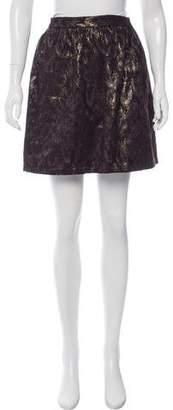 Steven Alan Mini Metallic Skirt w/ Tags