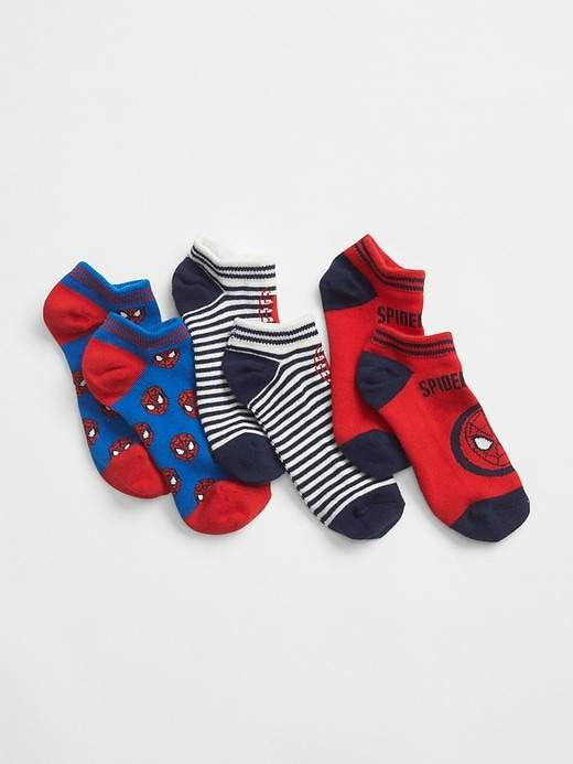 GapKids | Marvel© No-Show Socks (3-Pack)