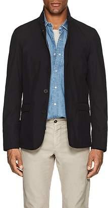 Herno Men's Tech-Taffeta Raincoat