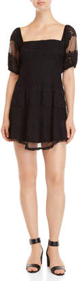 Free People Be Your Baby Mini Dress