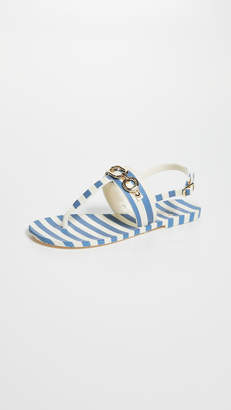 Kate Spade Polly Striped Sandals