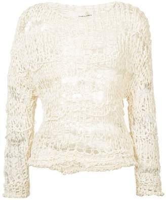 Isabel Benenato multi knit sweater