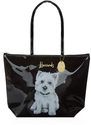 Harrods Westie Puppy Shoulder Tote Bag