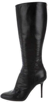 Jimmy Choo Jimmy Choo Knee-High Leather Boots