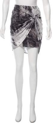 Helmut Lang Knee-Length Draped Skirt