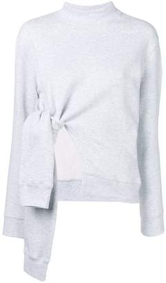 MSGM deconstructed sweatshirt