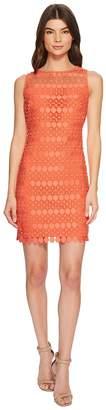Lauren Ralph Lauren Petite Melia Circlet Geo Lace Dress Women's Dress