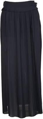 Golden Goose Long Pleated Skirt