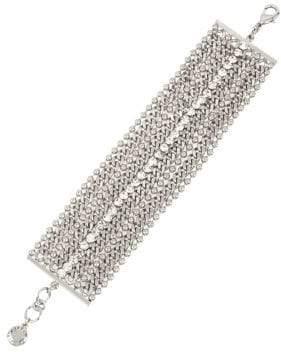 BCBGeneration Sparking Seas Crystal Multi-Row Bracelet