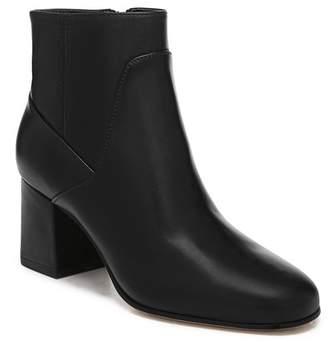 Via Spiga Magali Leather Block Heel Bootie