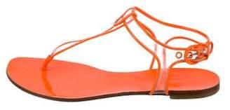 Casadei PVC Thong Sandals
