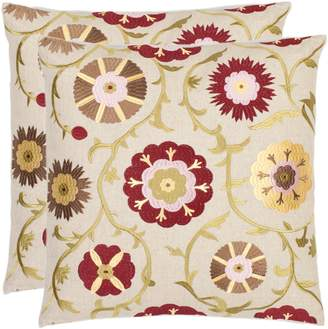 Safavieh Pavon 2-piece Throw Pillow Set