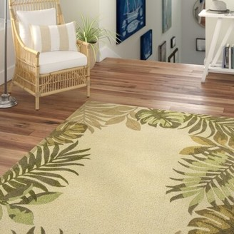 Beachcrest Home Imala Hand-Tufted Wool Ivory Area Rug
