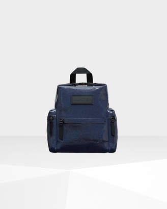Hunter Top Clip Mini Backpack - Rubberized Leather