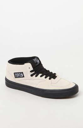 Vans Half Cab Black Sole White Shoes