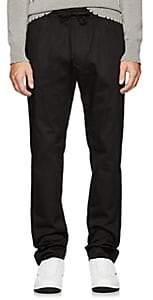 Tomas Maier MEN'S COTTON DRAWSTRING TROUSERS-BLACK SIZE XL