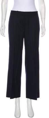 Brooks Brothers Mid-Rise Wide-Leg Pants