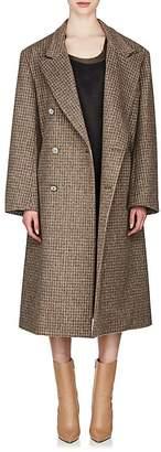 Maison Margiela Women's Cutout Wool-Blend Double-Breasted Coat