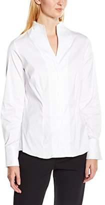 Jacques Britt Women's Regular Fit Long Sleeve Braces White (Manufacturer Size: 40)