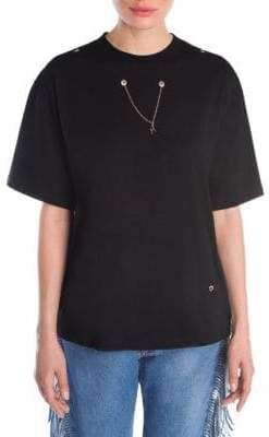 MSGM Chain Necklace T-Shirt