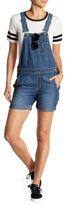 Big Star Heather Short Overalls