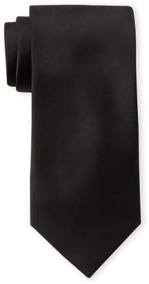 Pierre Cardin Black Satin Tie