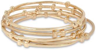 Robert Lee Morris Soho Gold-Tone 5-Pc. Set Bangle Bracelets