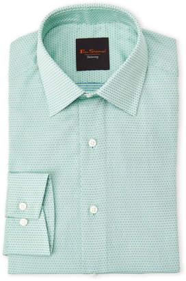 Ben Sherman Green Dot Slim Fit Dress Shirt