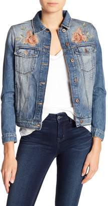 Mavi Jeans Katy Rose Embroidered Denim Jacket