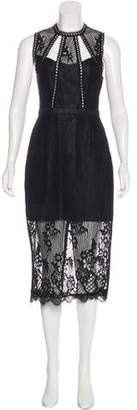 Alexis Oralie Sleeveless Lace Midi Dress w/ Tags