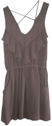 By Zoé Pink Silk Dress for Women
