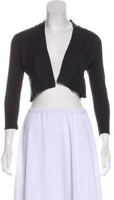 Calvin Klein Collection Long Sleeve Crop Cardigan