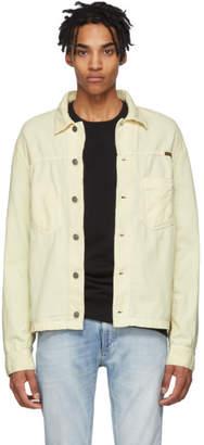 Nudie Jeans White Corduroy Ronny Jacket