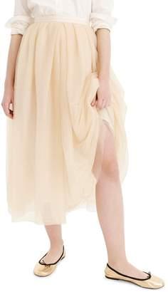 J.Crew Tulle Ball Skirt