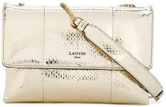 Lanvin metallic Sugar shoulder bag