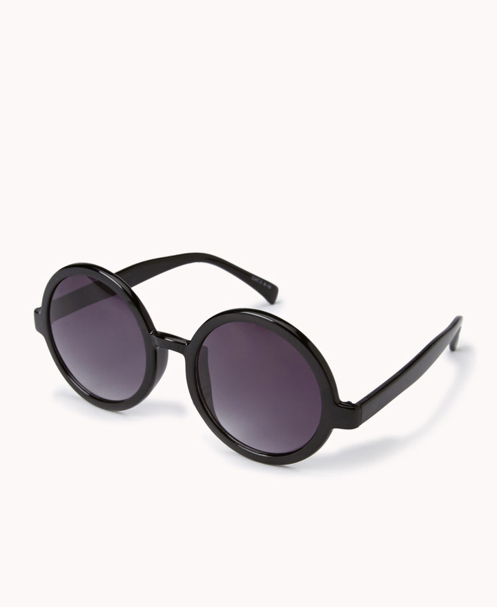 Forever 21 F7361 Oversized Round Sunglasses
