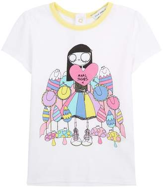 Marc Jacobs Flower Girl Printed T-Shirt