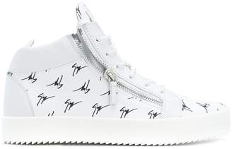 Giuseppe Zanotti Design The Signature hi-top sneakers