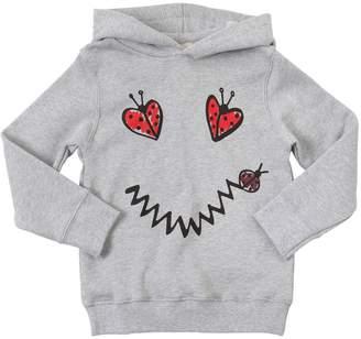 Stella McCartney Ladybugs Print Cotton Sweatshirt Hoodie