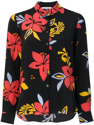 Parker Chinti & hibiscus print classic shirt
