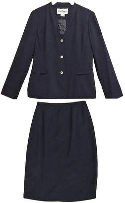 Rafael Navy Skirt Suit