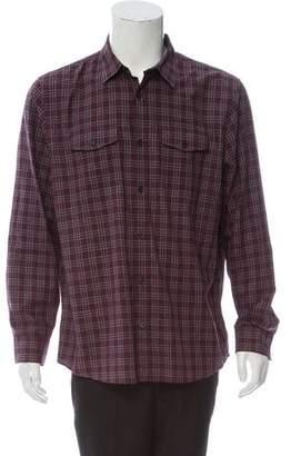 Michael Kors Plaid Casual Shirt