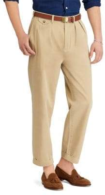 Polo Ralph Lauren Pima Cotton Cuffed Khakis