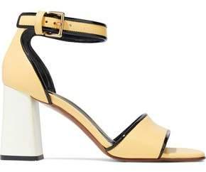 Marni Color-Block Leather Sandals