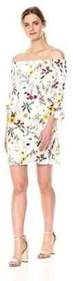 Bailey 44 Women's Botanical Off The Shoulder Dress