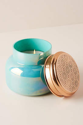 Anthropologie Capri Blue Iridescent Jar Candle