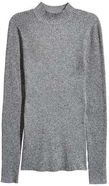 H&M Mock-turtleneck Sweater