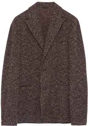 Altea Virgin wool blend herringbone soft blazer
