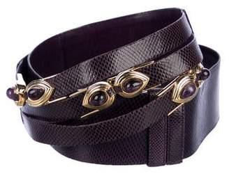 Judith Leiber Karung Adjustable Belt