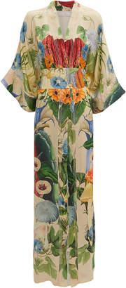 Carolina K. Helen Sacred Plants Kimono